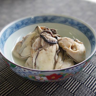 大粒蒸し牡蠣
