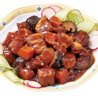 豚バラ醤油煮込み