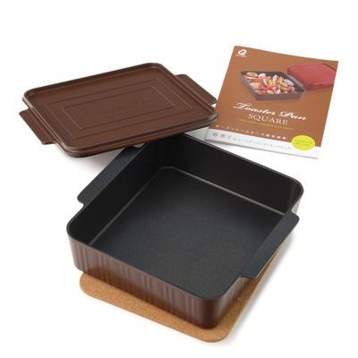 葛恵子のトースタークッキング専用トースターパン スクエア