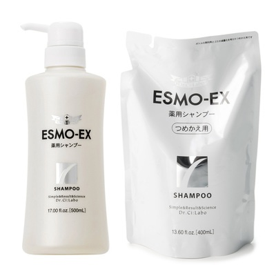 2種の有効成分配合。頭皮を清潔にし、フケ・かゆみ・頭皮の汗臭を防ぎます。