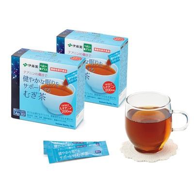 伊藤園健やかな眠りをサポートするむぎ茶60包 - 617799
