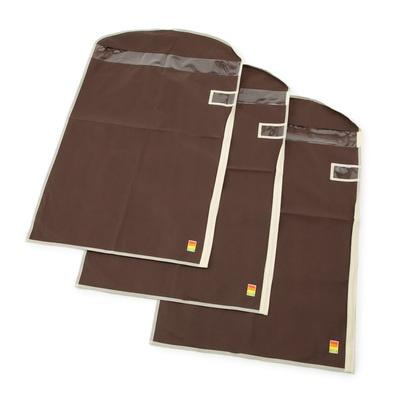 クローゼットの収納をすっきりさせ、衣類をホコリから守ってくれる衣類カバーです。