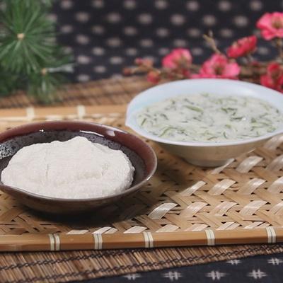 千葉県産の大和芋をすりおろした粘りの強い濃厚なとろろ芋。1袋40gの小袋タイプです。