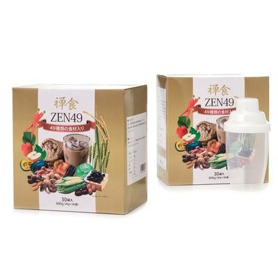 ZEN49 ダイエット禅食 お得な2箱セット シェイカー付き