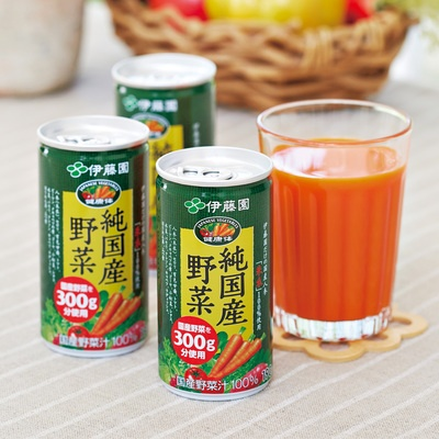 伊藤園「健康体」純国産野菜190g×60本