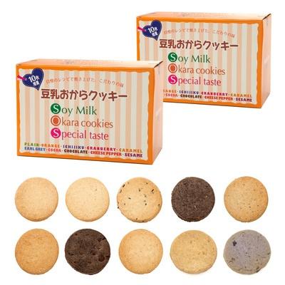 豆乳おからクッキー増量10味[420枚]