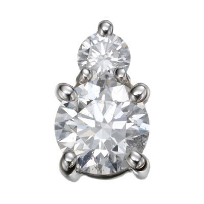 ダイヤはカナダ産。地金はプラチナ950。贅沢な素材使いのペンダントヘッドです。