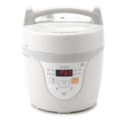sirocaマイコン式電気圧力鍋クックマイスター