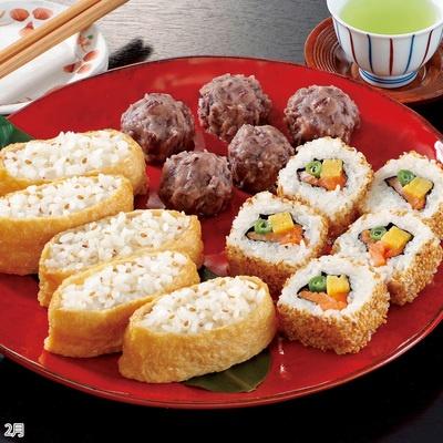お手軽寿司とミニ和菓子 4カ月頒布会