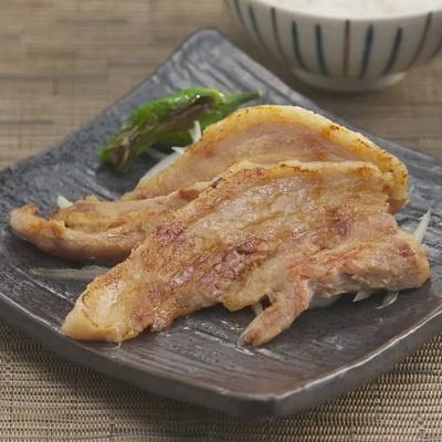 福島県麓山高原豚 バラ味噌漬8袋 計640g