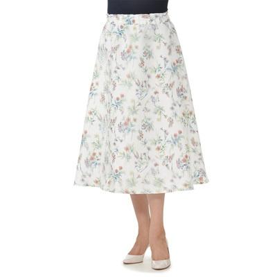 MALIANI 3Dプリントの華やかスカート