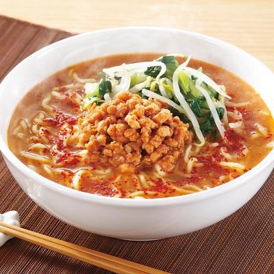 めん工房「肉味噌が自慢の担担麺」8食セット - 635089