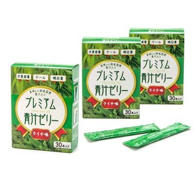 プレミアム青汁ゼリー 3箱セット - 636069