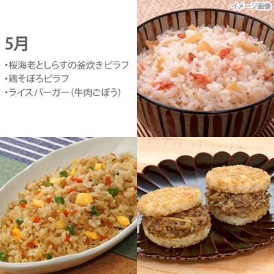 レンジで簡単!冷凍米飯3種セット6カ月頒布会 - 637538
