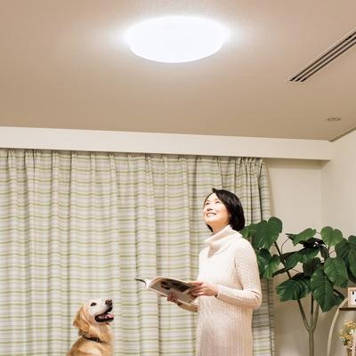 調光調色付 明るさ充実! LEDシーリングライト8畳 - 645761