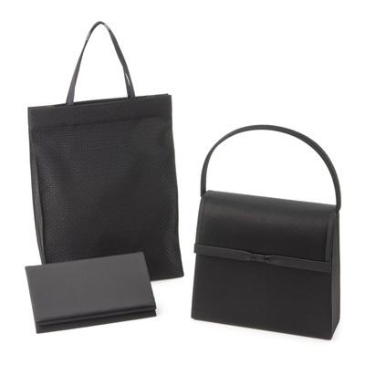 東京ソワール ブラックフォーマルバッグセット