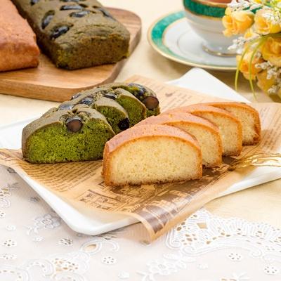 京都北山「ラミデュパン」パウンドケーキ プレーン・抹茶