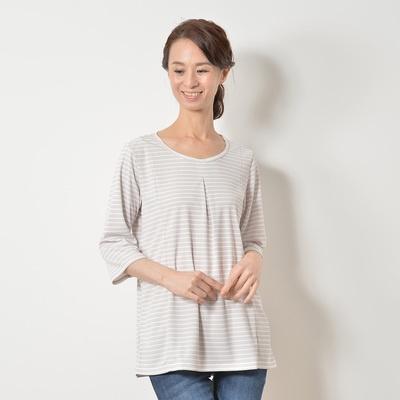 ミズノ「着る木陰」遮熱UV 七分袖プルオーバー - 652196