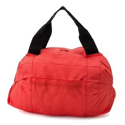キレイにたためるバッグ 「Shupatto」 ボストンバッグ
