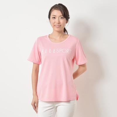 ELLE SPORT UV フロントロゴTシャツ - 652451