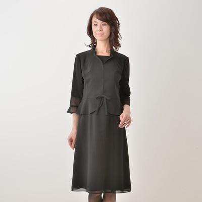 東京ソワール 絽織りウォッシャブルフェミニンアンサンブル - 652752