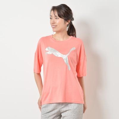 PUMA メタリックビックロゴTシャツ - 653997