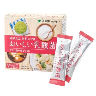 伊藤園 おいしい乳酸菌 15本入り - 656615