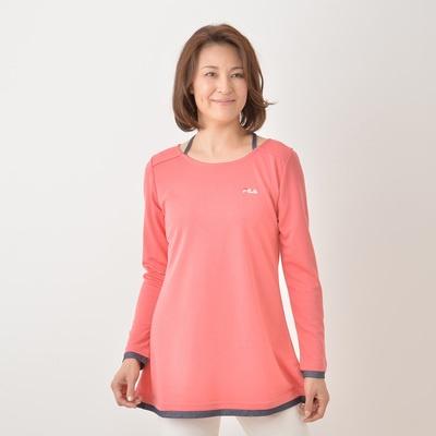 FILA UVデニム使いチュニックTシャツ - 658687