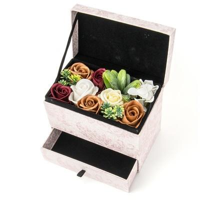 お花のカタチのギフト フレグランスフラワー[ジュエリーボックス] - 660977