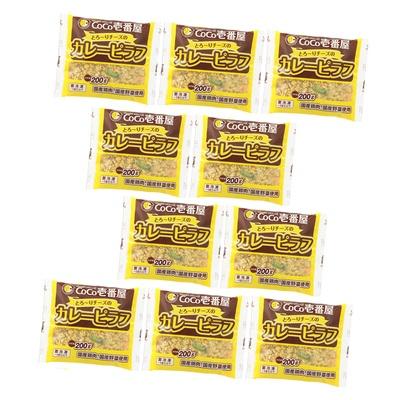 CoCo壱番屋 とろ〜りチーズのカレーピラフ10食セット