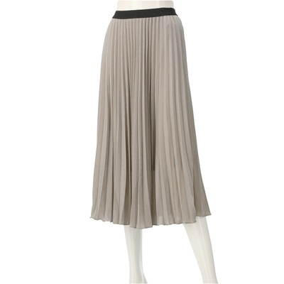 VIVAYOU グリッタープリーツスカート