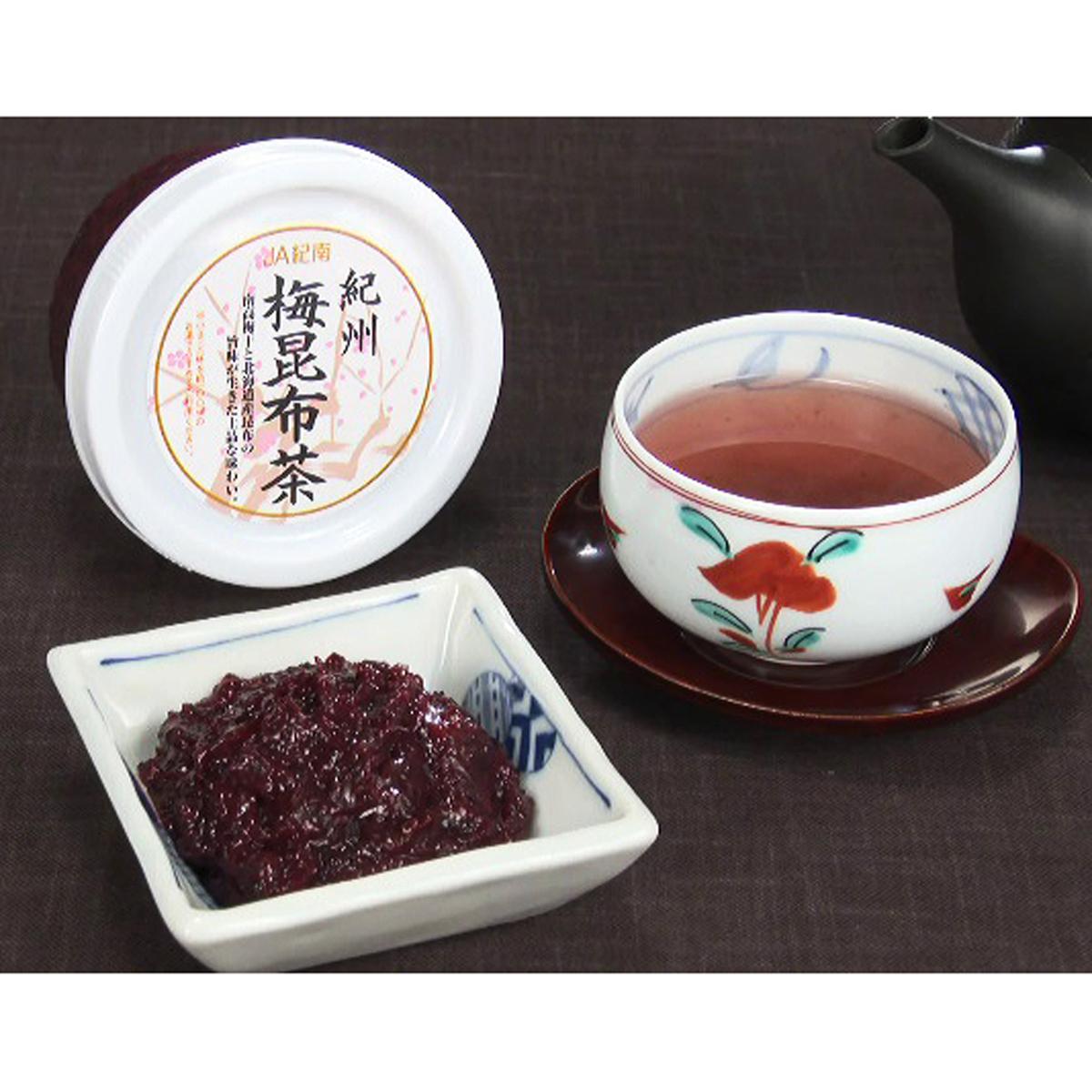 JA紀南 紀州南高梅使用梅昆布茶200g×3