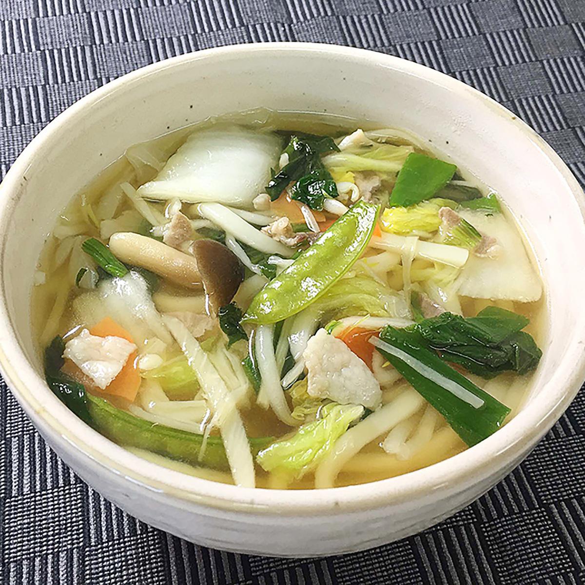 10種の野菜・きのこがとれるうどん 8食