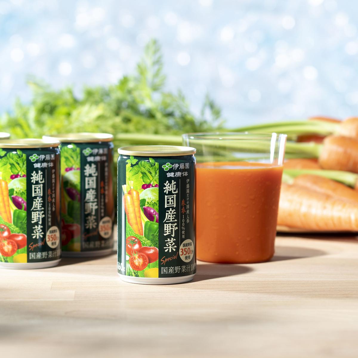 伊藤園健康体 1日分の純国産野菜160g×60本