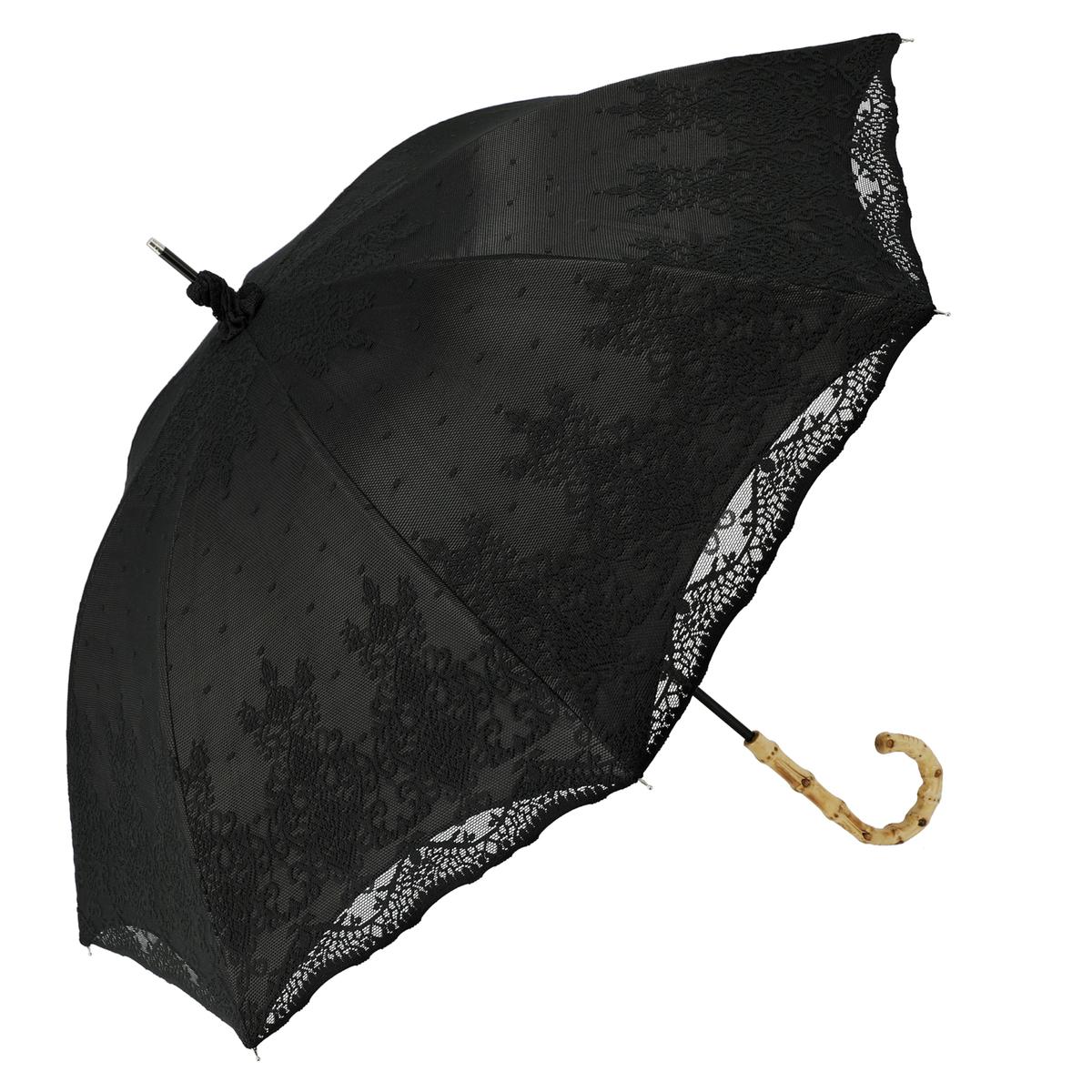 ルナジュメール UV+1級遮光+晴雨兼用 2重レース 長傘