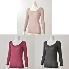 <QVCジャパン> B.V.D. ラウンドネックシャツ カラーが選べる3点セット