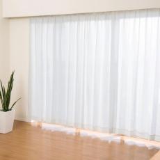 見えにくい遮熱レースカーテン高級仕様150cm2枚組