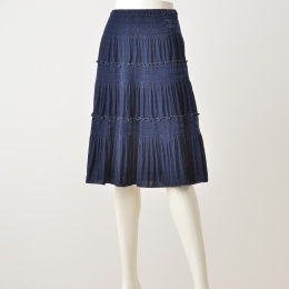 1814e808da81f ノコオーノ>ベルベットティアードスカート