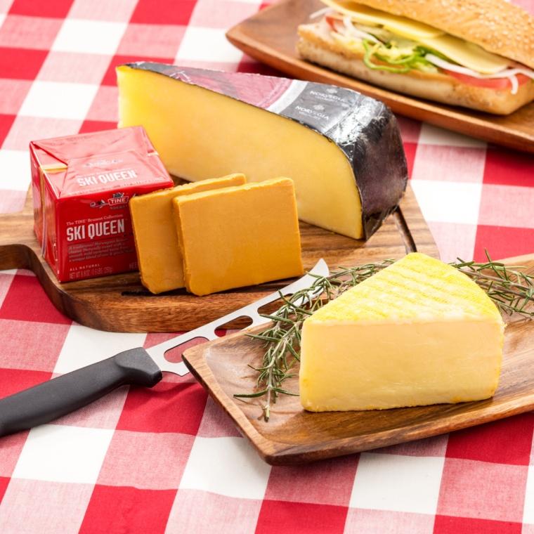 ノルウェー産チーズ類 3種セット