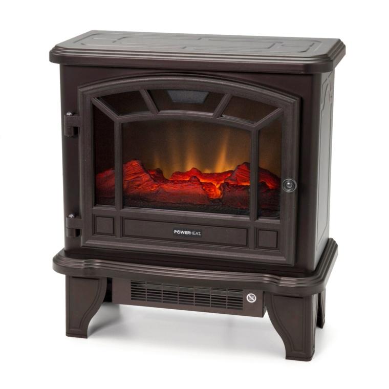 癒される炎 パワーヒート 暖炉型ファンヒーター ミディアム
