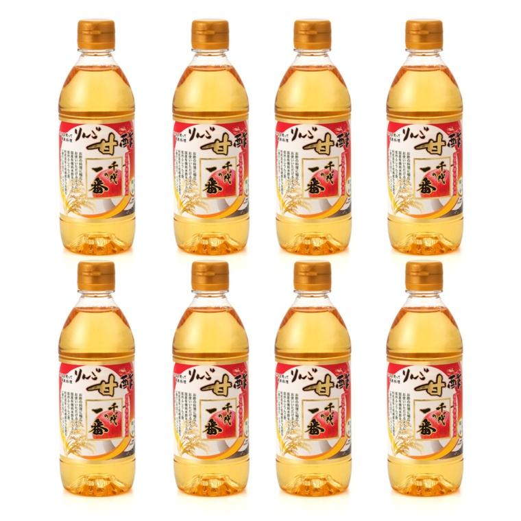 千代の一番 りんご甘酢8本セット