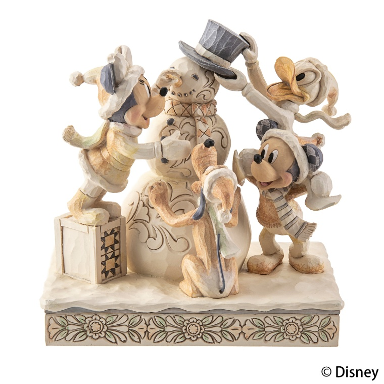ディズニー トラディション ホワイト ミッキー&フレンズ