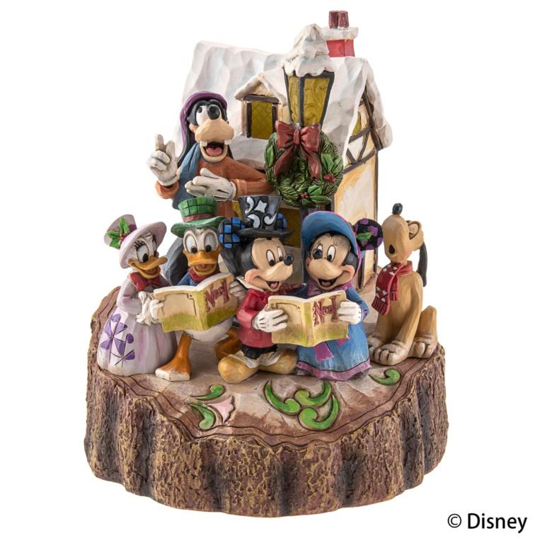 ディズニー トラディション クリスマス キャロル ライトアップ