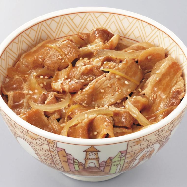 すき家 豚丼の具6食