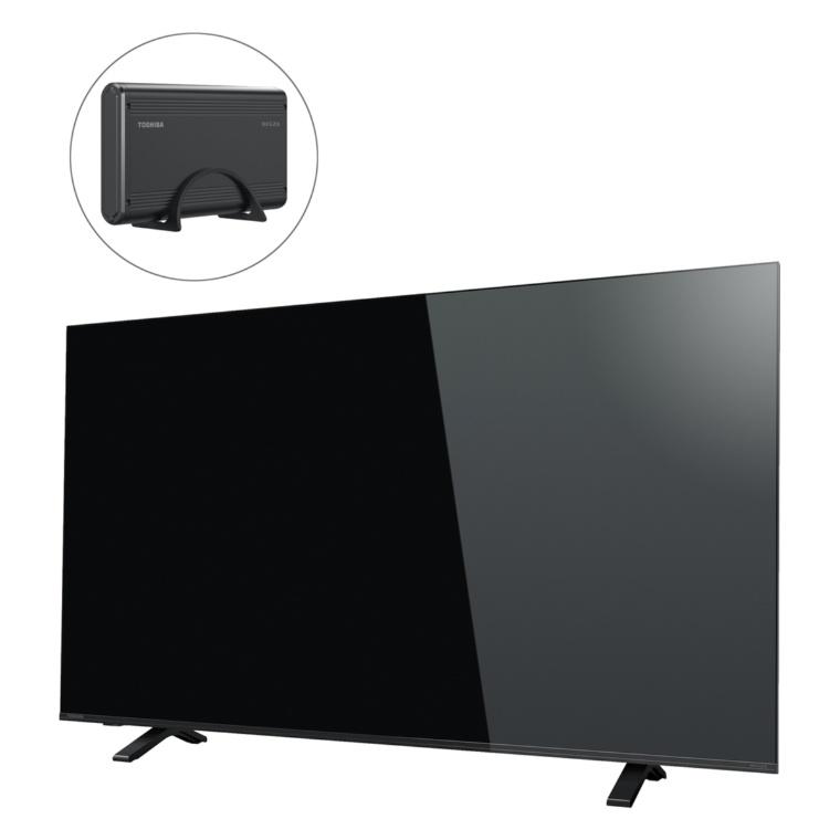 東芝4Kチューナー内蔵液晶TVレグザ50型+外付けHD