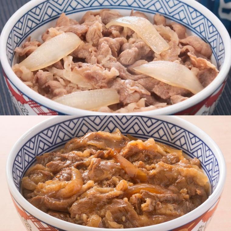 吉野家の牛丼の具6食・牛焼肉4食セット