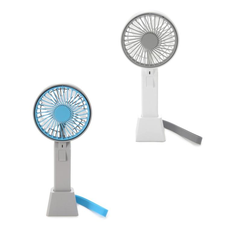 手持&卓上2WAYハンディ扇風機色が選べる2点セット