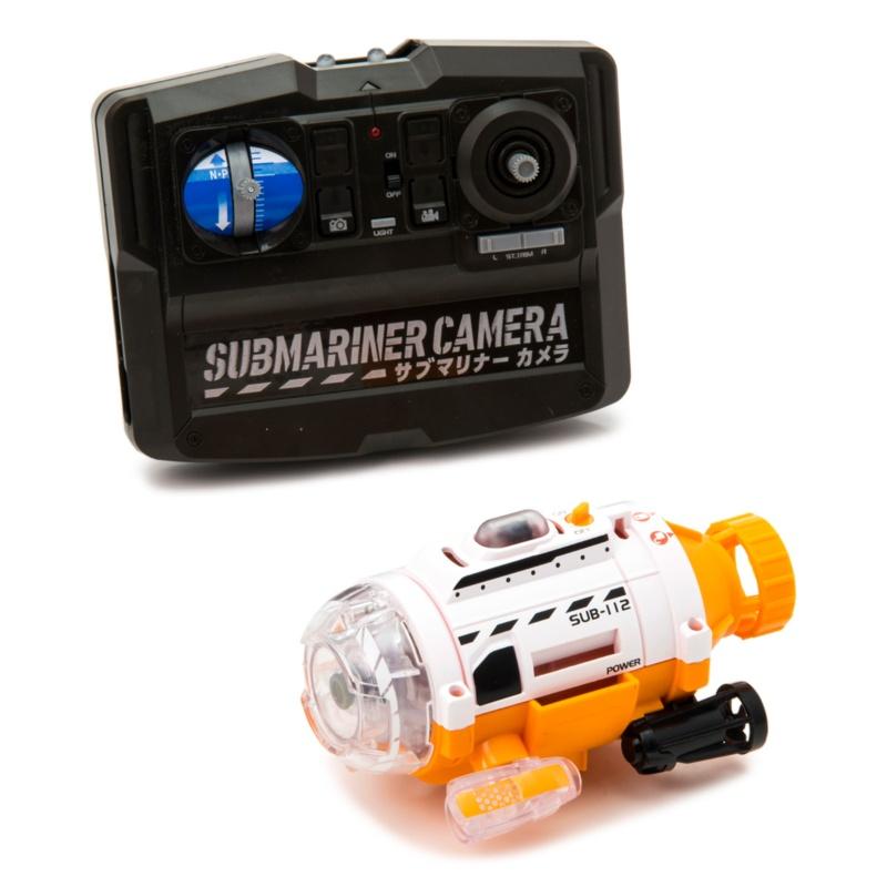 カメラ搭載で水中撮影! サブマリナーカメラ