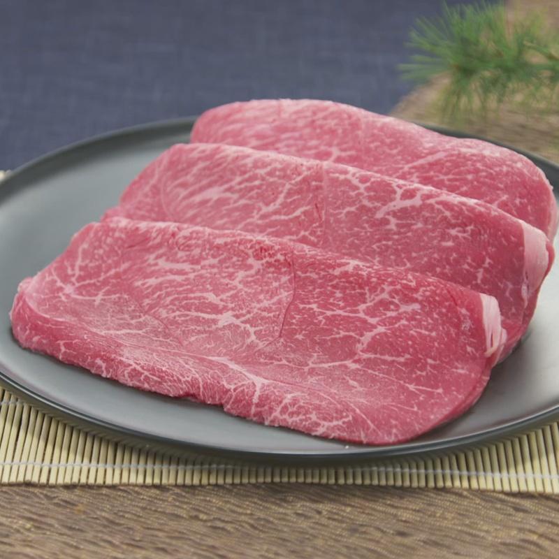 柿安 黒毛和牛すき焼用 モモ 300g