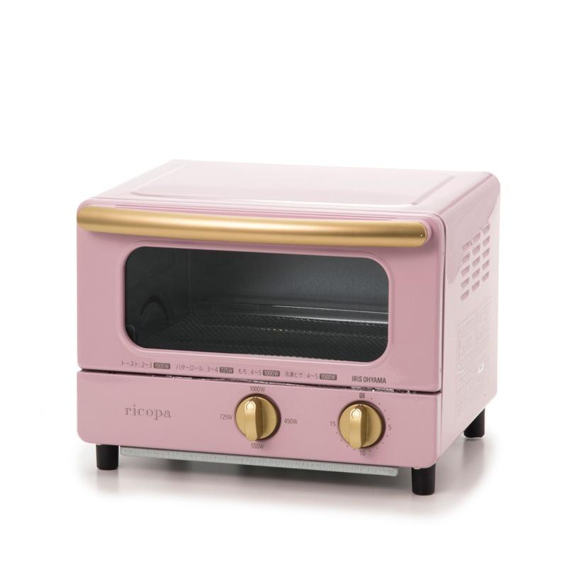 QVCジャパンかわいいデサイン!ricopa オーブントースター